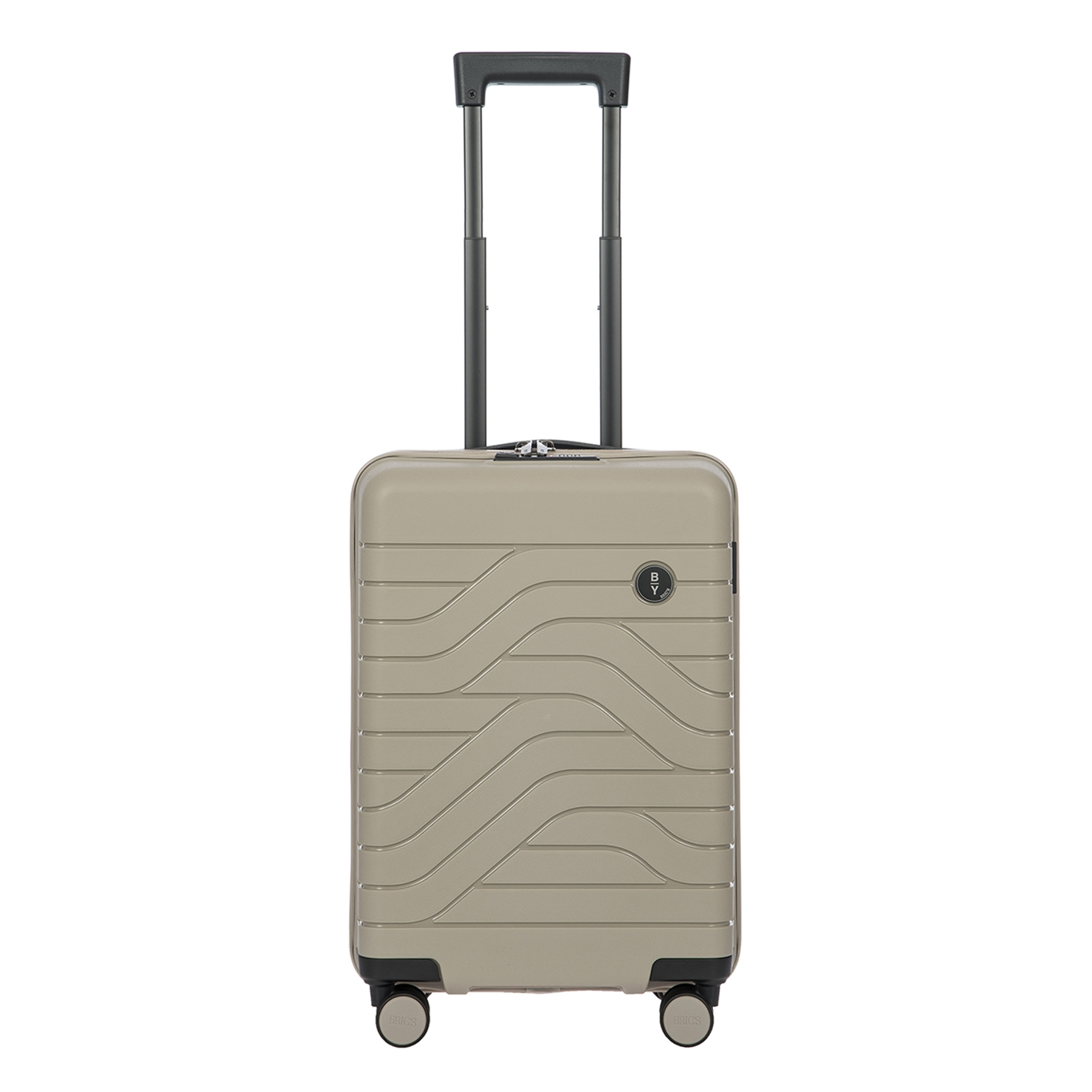 Bric&apos;s Ulisse Trolley 55 USB dove grey Harde Koffer <br/></noscript><img class=
