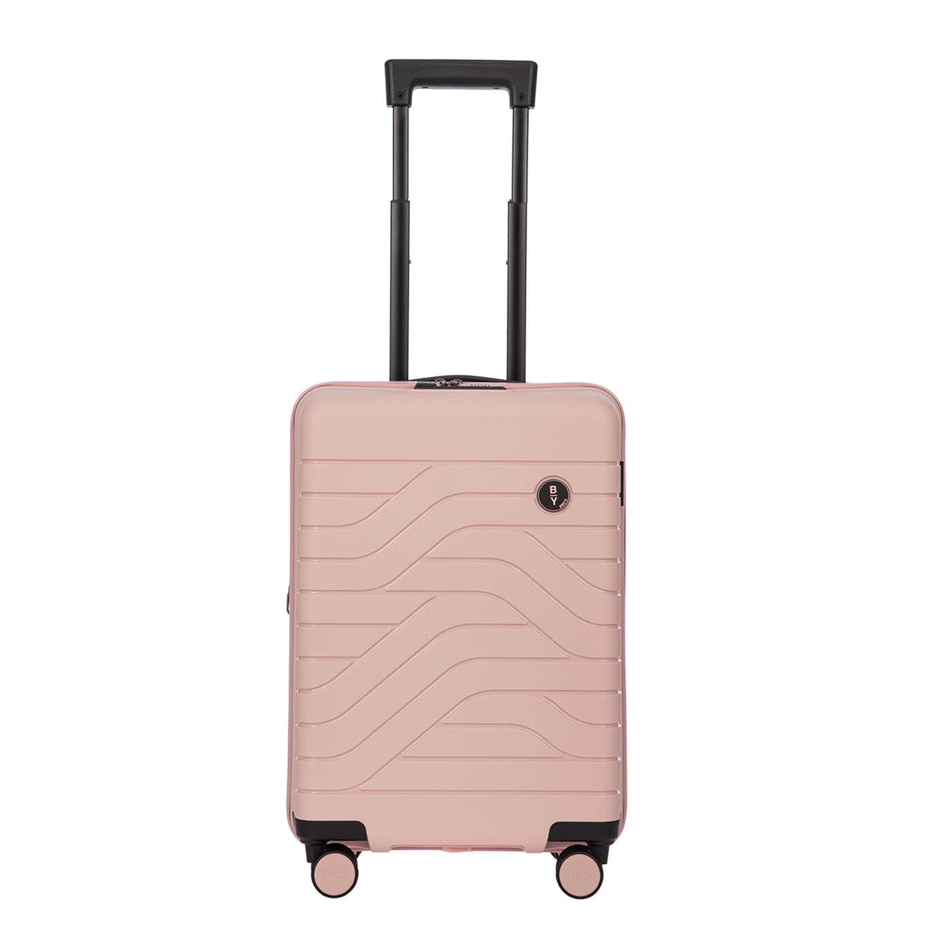Bric&apos;s Ulisse Trolley Expandable 55 USB pearl pink Harde Koffer <br/></noscript><img class=