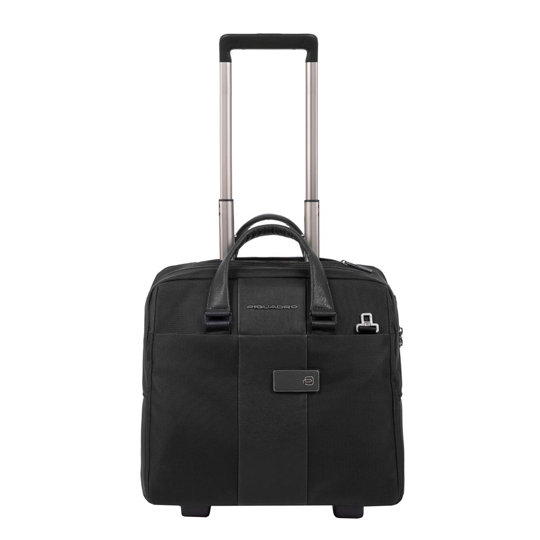 Piquadro Blue Square Business Trolley black Zakelijke koffer <br/></noscript><img class=