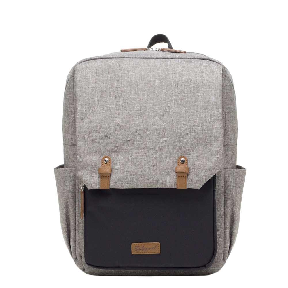 Babymel George Backpack grey / black Luiertas
