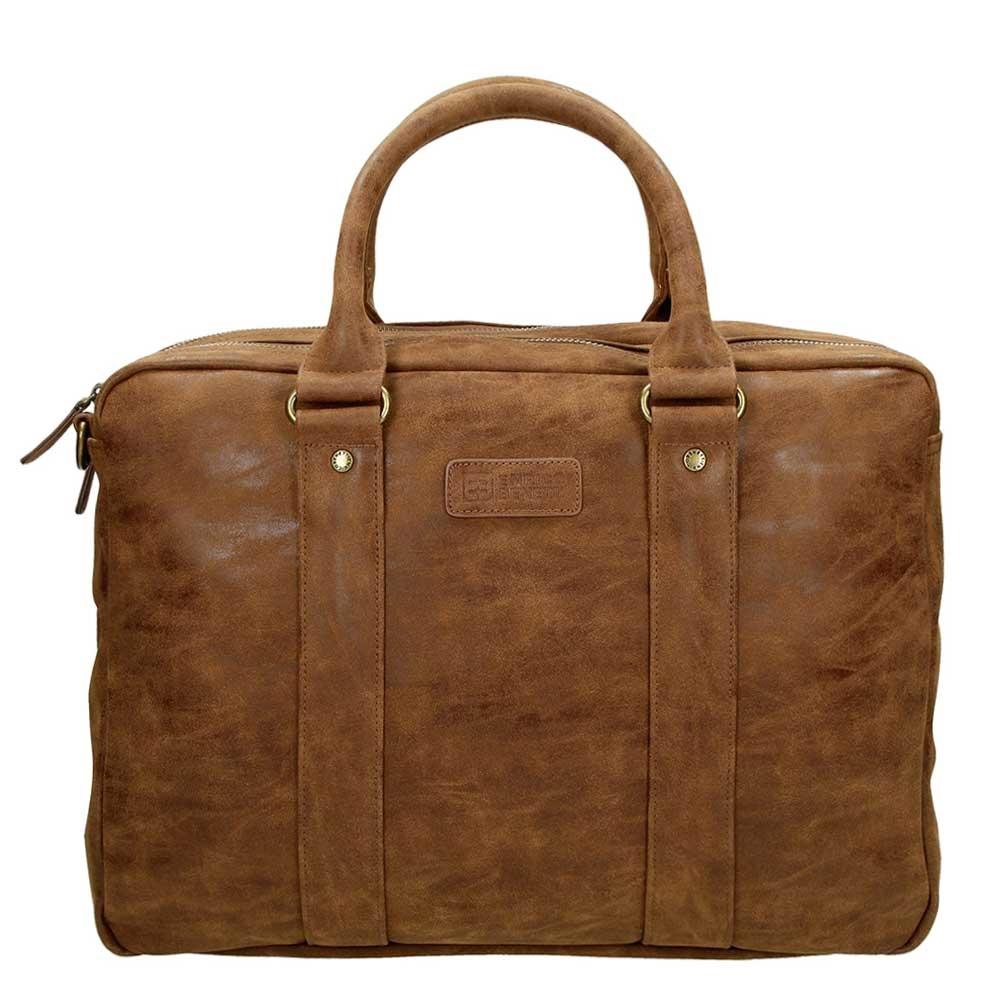 "Enrico Benetti Madrid Laptoptas 15.6"" brown - 1"