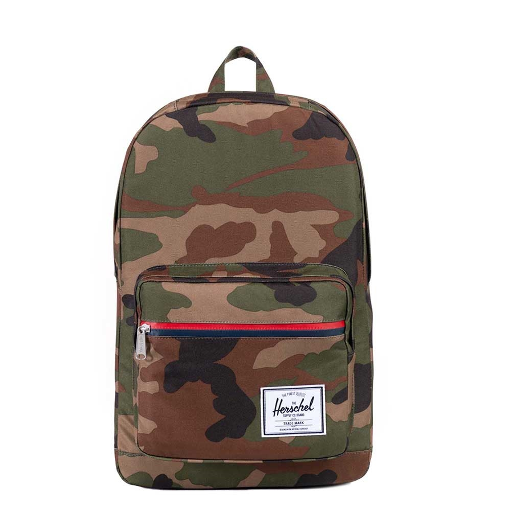 Herschel Pop Quiz Woodland Camo-Multi Zip