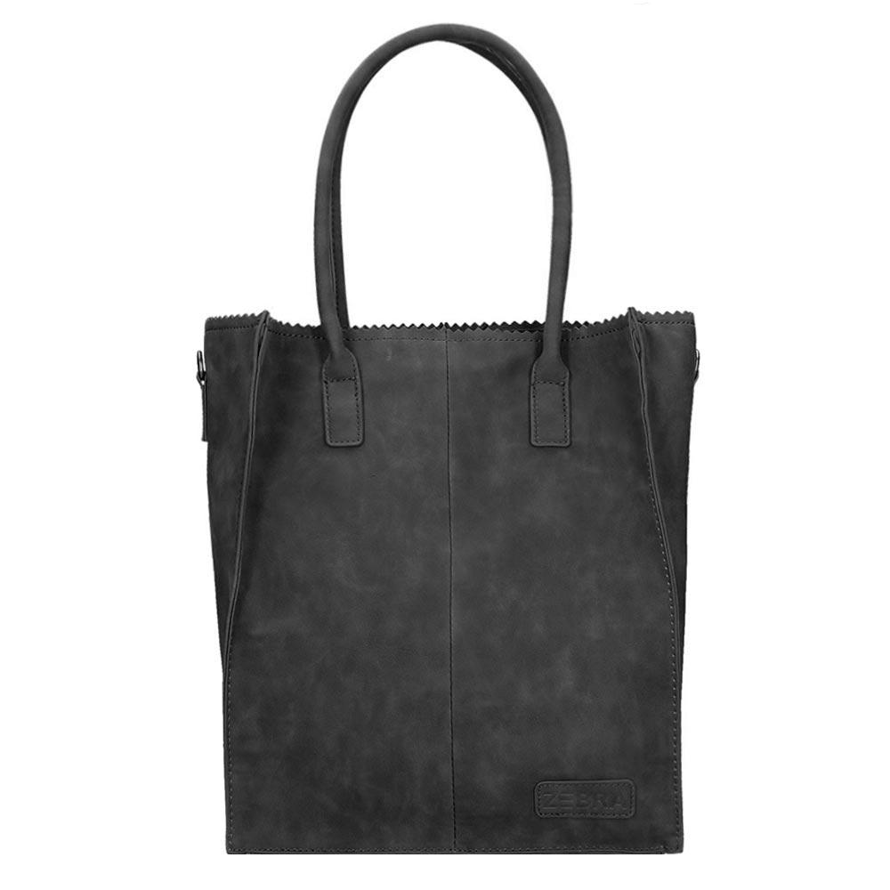 Zebra Trends Natural Bag Rosa Shopper black - 1