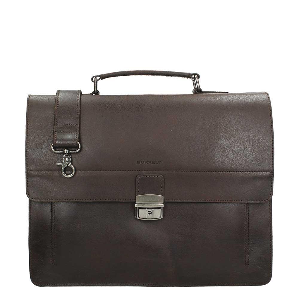 Burkely Scott Vintage Briefcase 2 Compartment dark brown - 1
