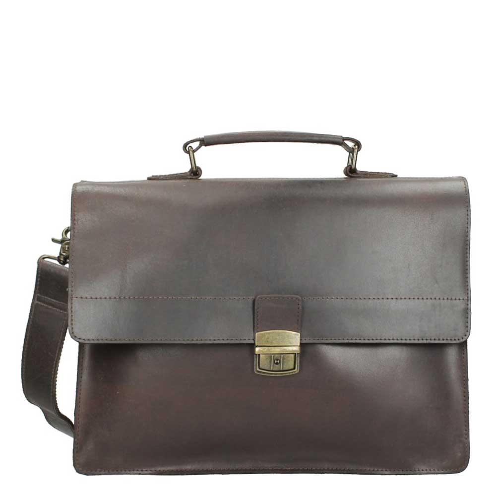 Burkely Vintage Aktetas 637922 Dark Brown