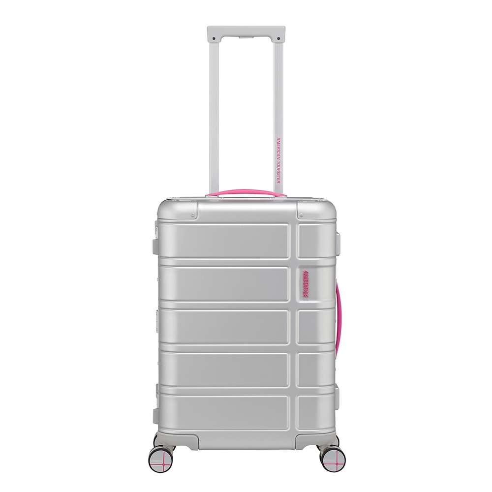 American Tourister Alumo Spinner 55 Neon pink - 1
