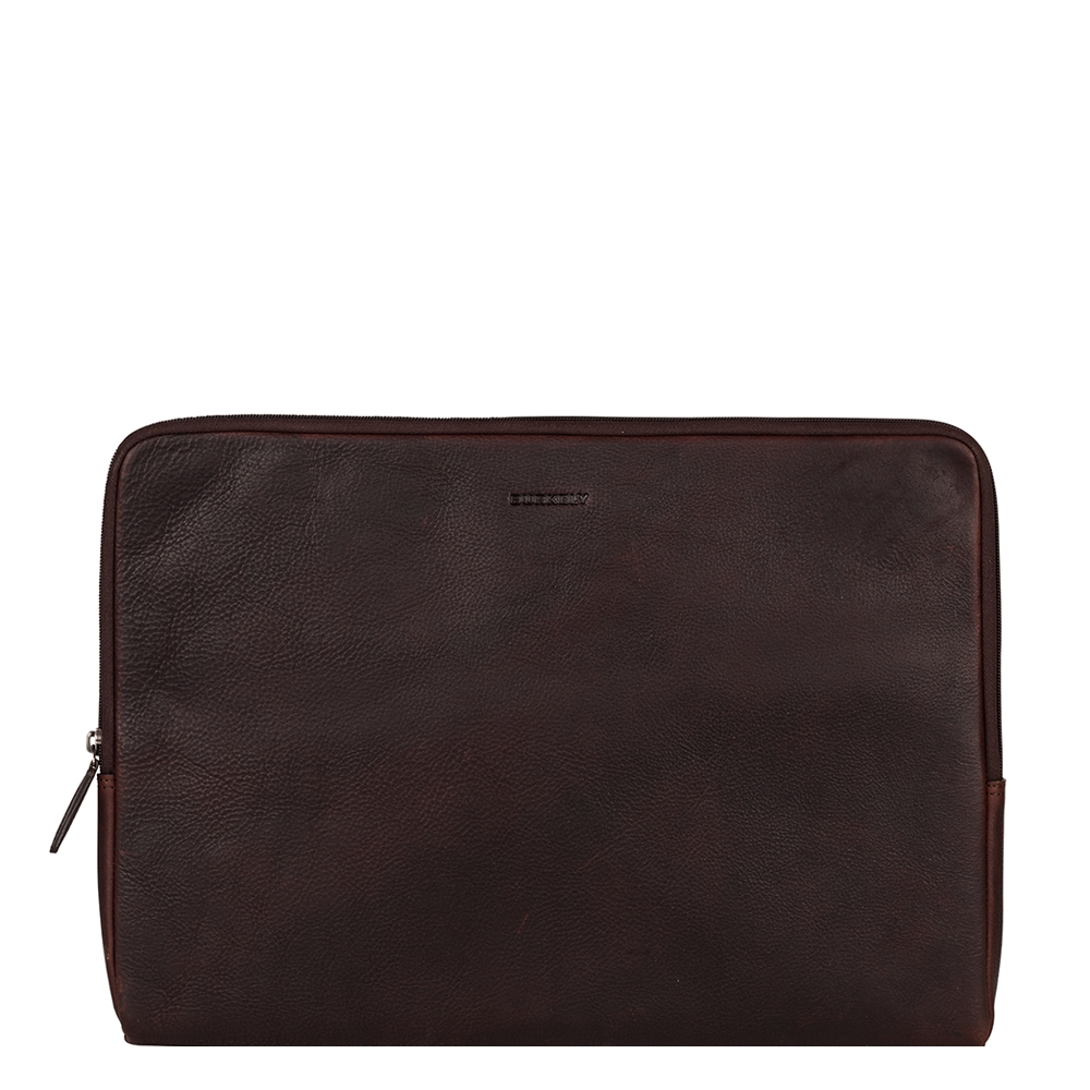 Burkely Antique Avery Laptopsleeve 15.6'' brown - 1