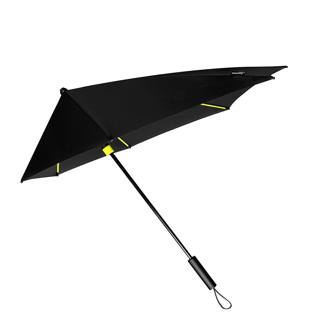 Impliva STORMaxi Aerodynamische Stormparaplu Special Edition zwart - geel (Storm) Paraplu