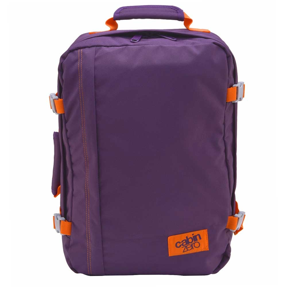 CabinZero Classic 44L Ultra Light Cabin Bag purple cloud Weekendtas <br/>€ 69.90 <br/> <a href='https://tc.tradetracker.net/?c=15082&m=779702&a=107398&u=http%3A%2F%2Fwww.travelbags.nl%3A80%2Fcabinzero-classic-44l-ultra-light-cabin-bag-purple-cloud.html' target='_blank'>Bestellen</a>
