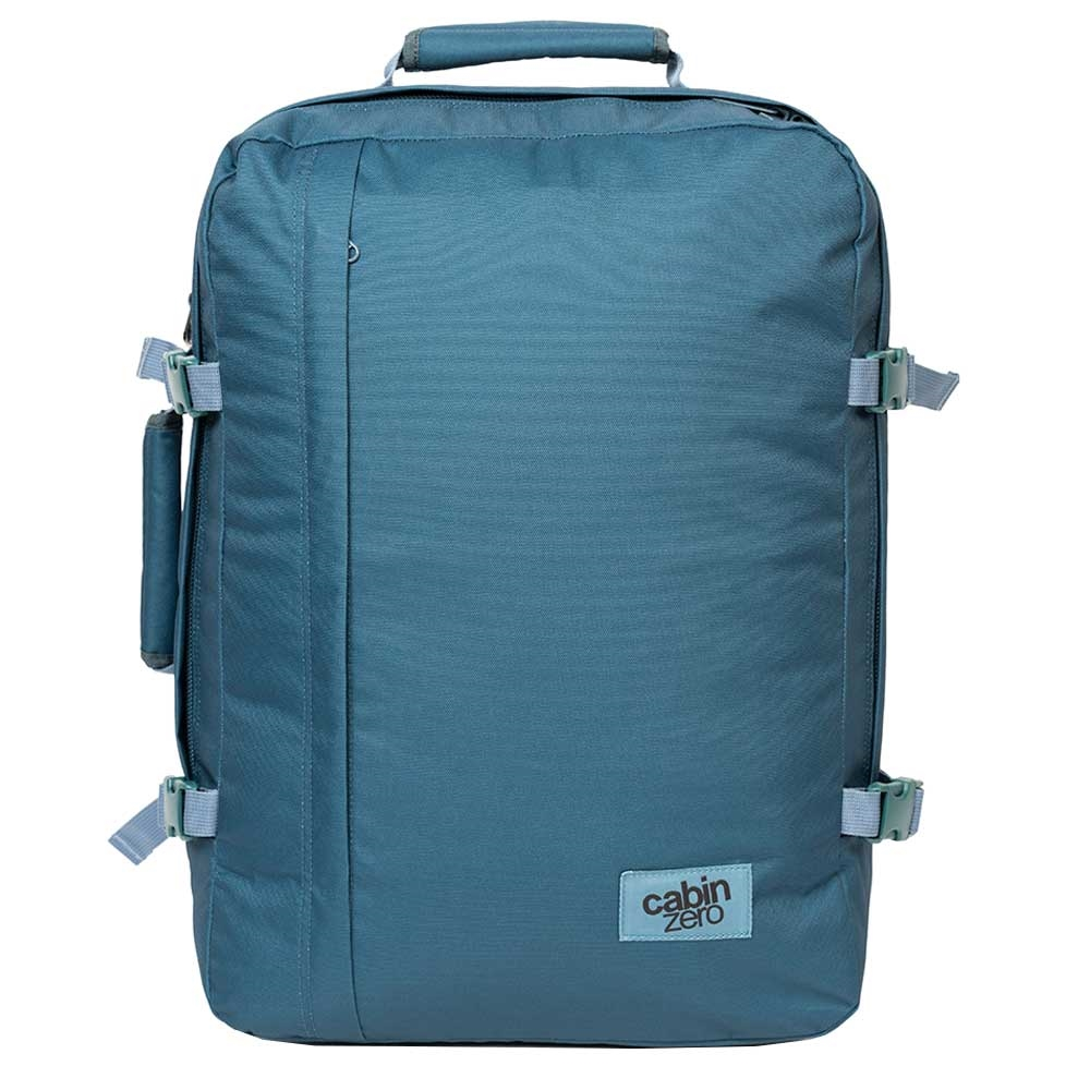 CabinZero Classic 44L Ultra Light Cabin Bag aruba blue Weekendtas <br/>€ 69.90 <br/> <a href='https://tc.tradetracker.net/?c=15082&m=779702&a=107398&u=http%3A%2F%2Fwww.travelbags.nl%3A80%2Fcabinzero-classic-44l-ultra-light-cabin-bag-aruba-blue.html' target='_blank'>Bestellen</a>
