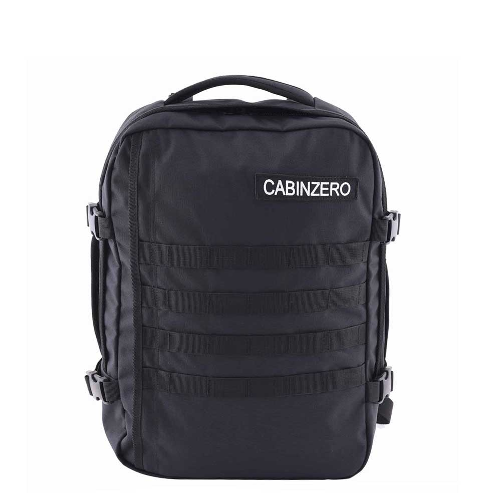 CabinZero Military 28L Lightweight Cabin Bag absolute black Weekendtas <br/>€ 79.90 <br/> <a href='https://tc.tradetracker.net/?c=15082&m=779702&a=107398&u=http%3A%2F%2Fwww.travelbags.nl%3A80%2Fcabinzero-military-28l-lightweight-cabin-bag-absolute-black.html' target='_blank'>Bestellen</a>