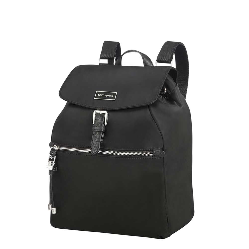 Samsonite Karissa Backpack 1 Pocket black Damestas