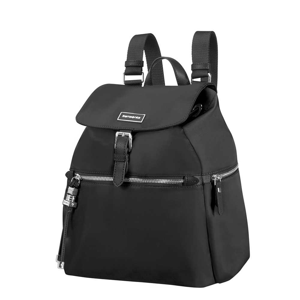 Samsonite Karissa Backpack 3 Pocket 1 Buckle black Damestas
