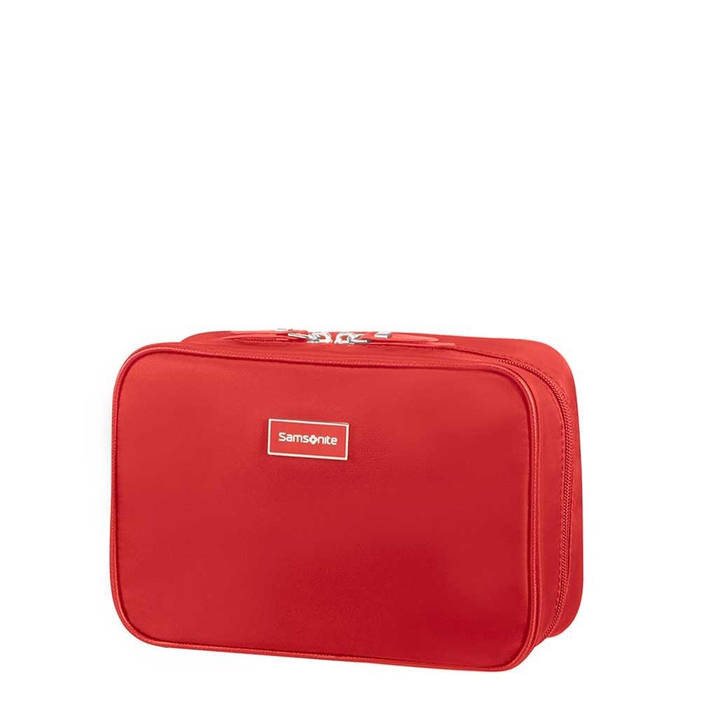 Samsonite Karissa Cosmetic Cases Weekender formula red Toilettas