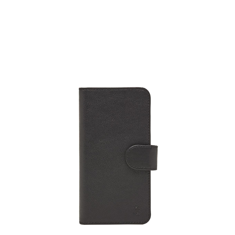 Castelijn & Beerens Nappa X RFID Wallet Case iPhone 7 + 8 black Telefoonhoesje