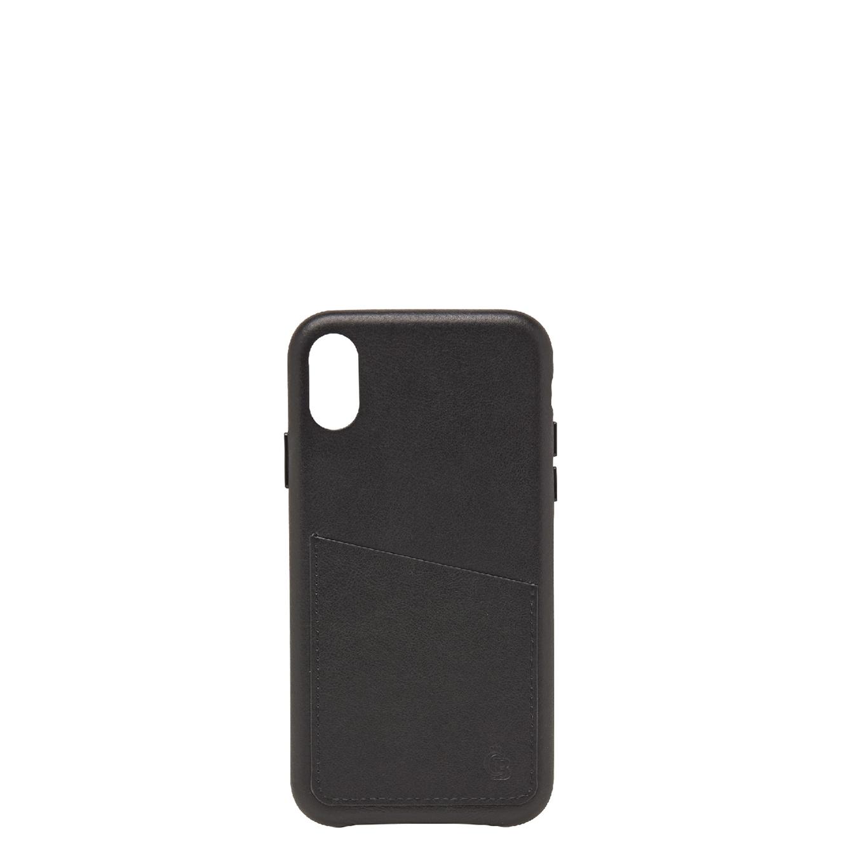 Castelijn & Beerens Nappa X Back Cover Wallet iPhone XR black Telefoonhoesje