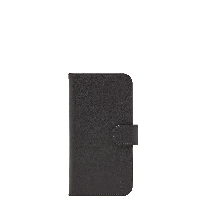 Castelijn & Beerens Nappa X RFID Wallet Case iPhone XR black Telefoonhoesje
