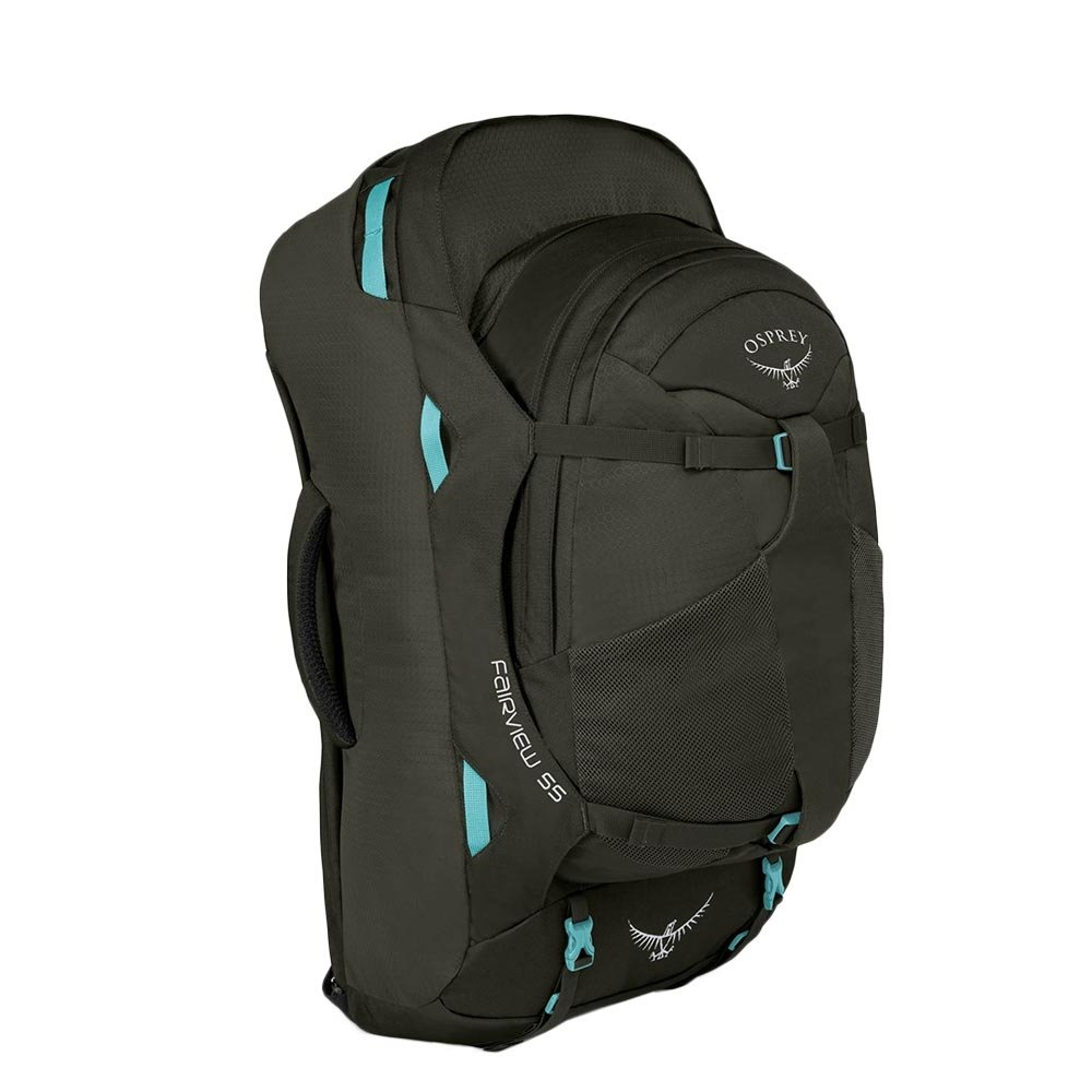 Osprey Fairview 55 S/M Travel Backpack misty grey backpack <br/></noscript><img class=