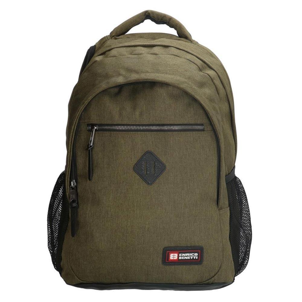 Enrico Benetti Montevideo Laptop Rugzak olive backpack