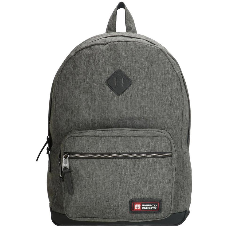 Enrico Benetti Montevideo Laptop Rugzak grey2 backpack