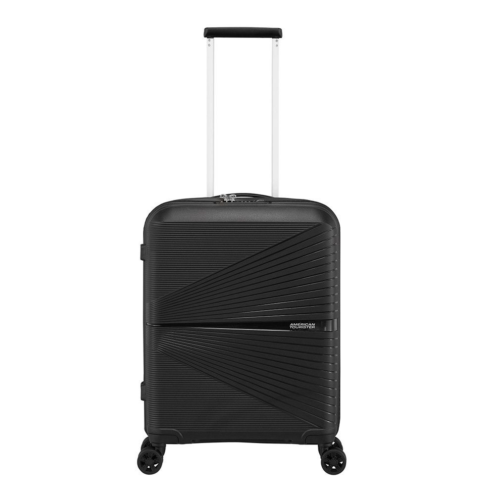 American Tourister Airconic Spinner 55 onyx black Harde Koffer <br/></noscript><img class=