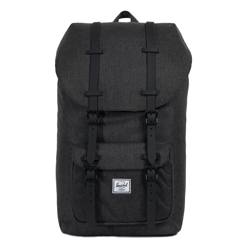Herschel Supply Co.-Rugzakken-Little America-Zwart