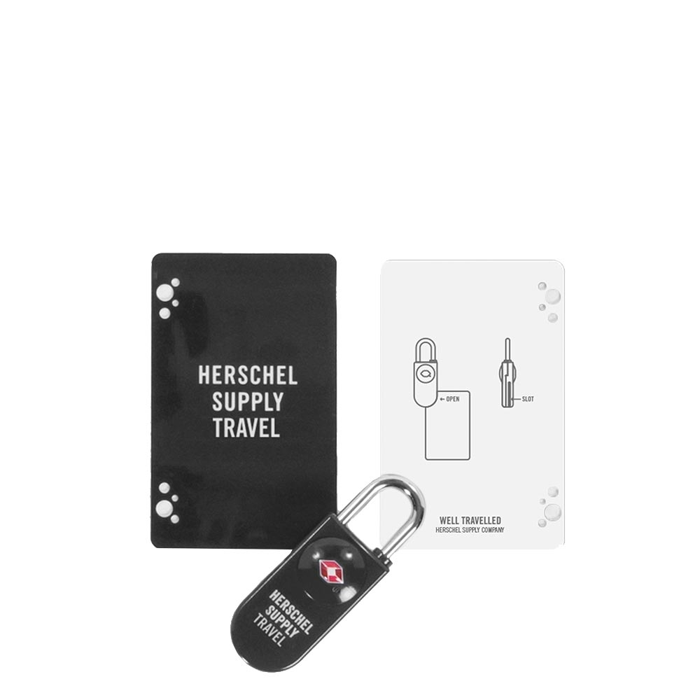 Herschel Supply Co. Travel Accessories TSA Card Lock black (TSA) kofferslot