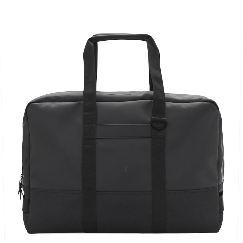 Rains Original Luggage Bag black Weekendtas <br/>€ 119.95 <br/> <a href='https://tc.tradetracker.net/?c=15082&m=779702&a=107398&u=http%3A%2F%2Fwww.travelbags.nl%3A80%2Frains-original-luggage-bag-black.html' target='_blank'>Bestellen</a>