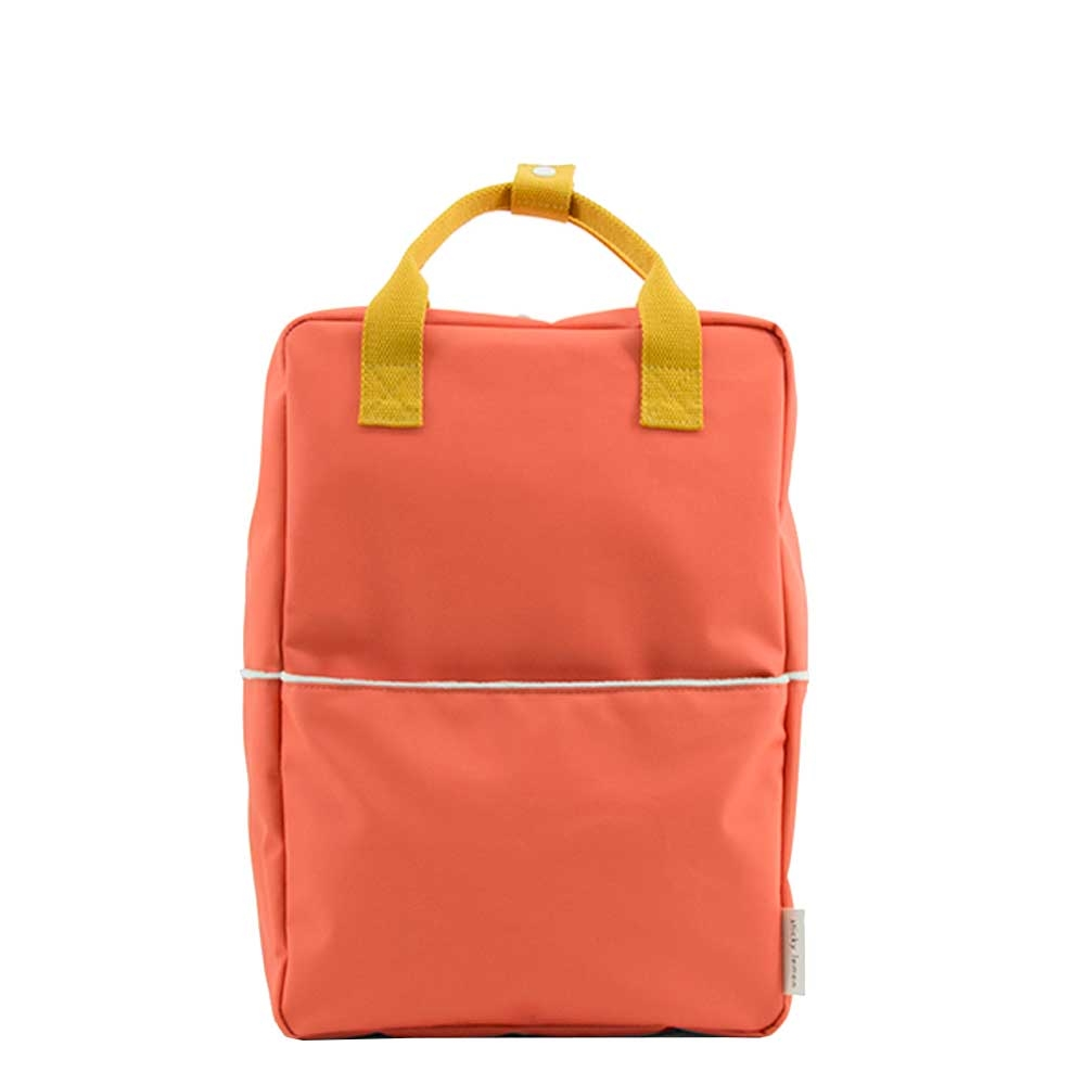 Sticky Lemon Original Backpack Large sporty red / caramel fudge / powder blue Ki