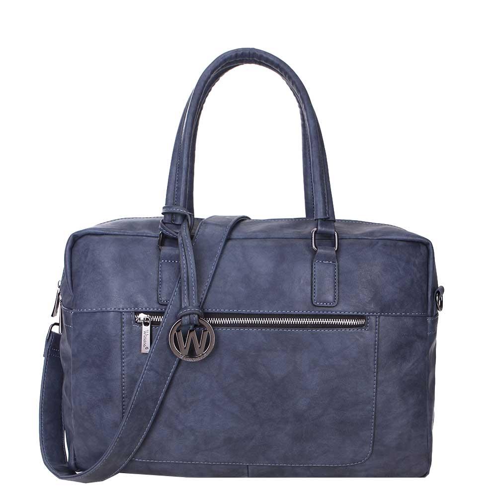 Wimona Milena Dames Laptoptas dark blue