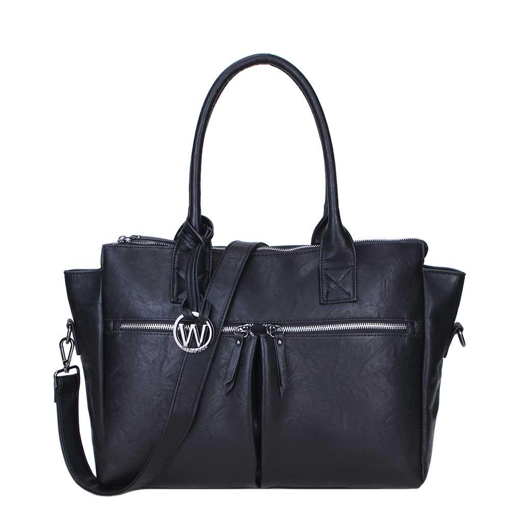 Wimona Catarina-One Dames Laptoptas black