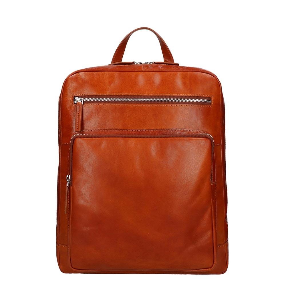 Leonhard Heyden Cambridge Backpack cognac Herentas