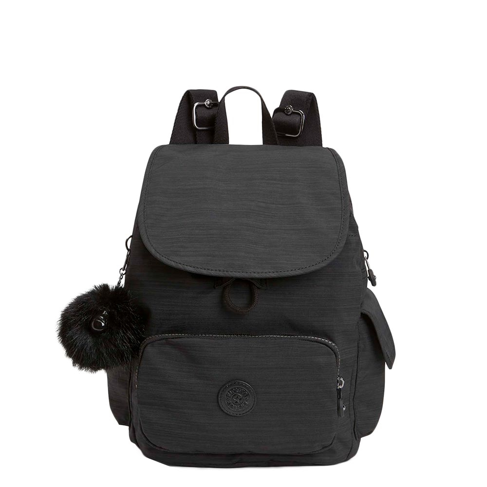 Kipling City Pack S BP Rugzak true dazz black