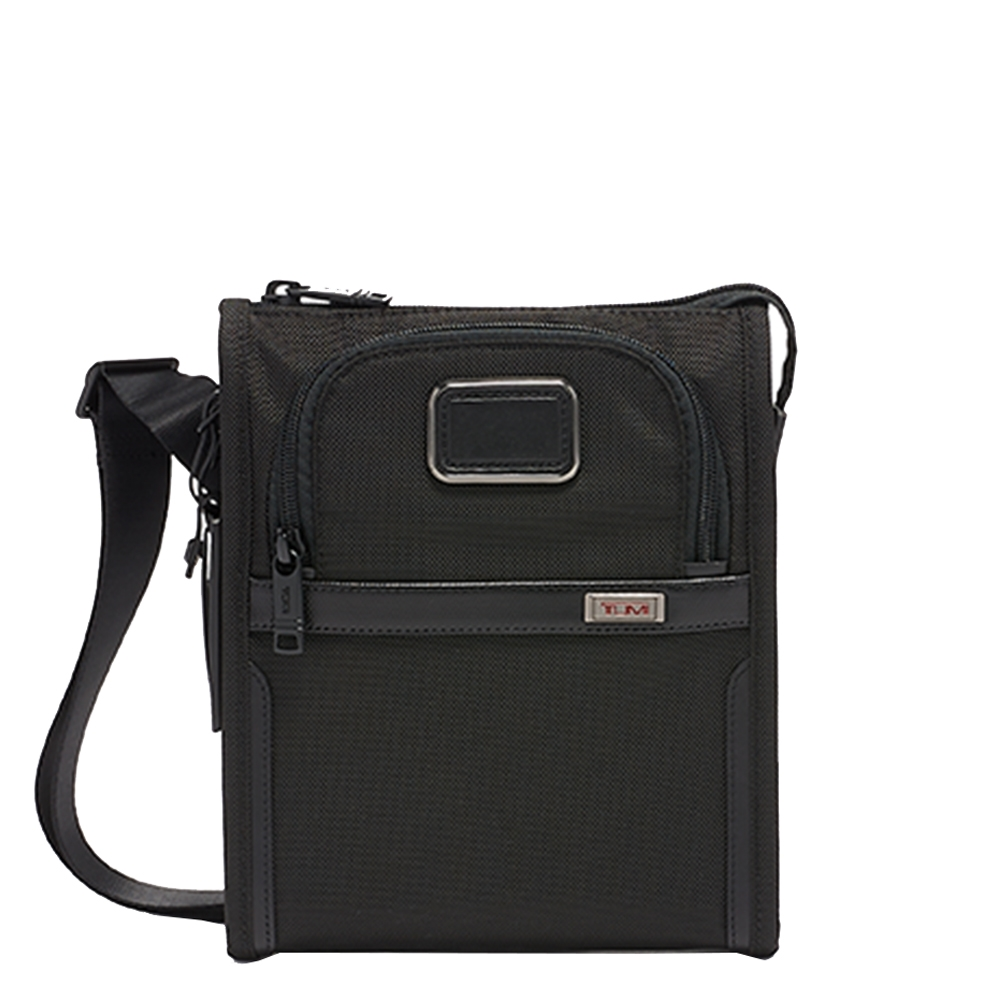 Tumi Alpha Pocket Bag Small black Herentas <br/></noscript><img class=