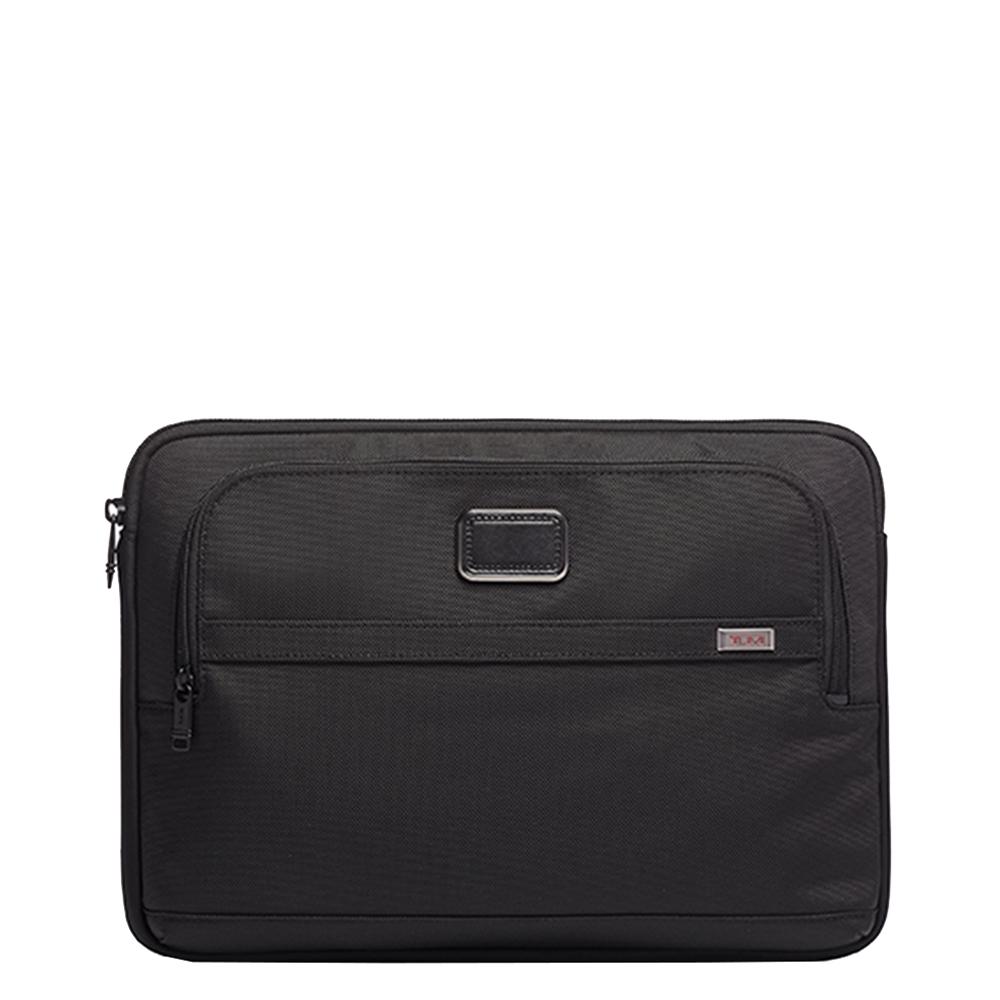 Tumi Alpha Large Laptop Cover black Laptopsleeve <br/>€ 120.00 <br/> <a href='https://tc.tradetracker.net/?c=15082&m=779702&a=107398&u=https%3A%2F%2Fwww.travelbags.nl%2Ftumi-alpha-large-laptop-cover-black.html' target='_blank'>Bestellen</a>
