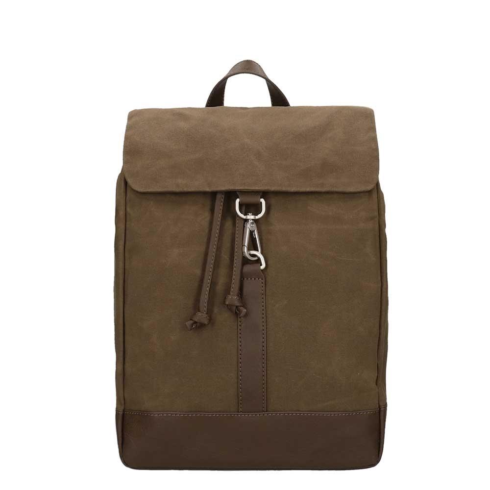 Jost Goteborg Drawstring Backpack olive backpack