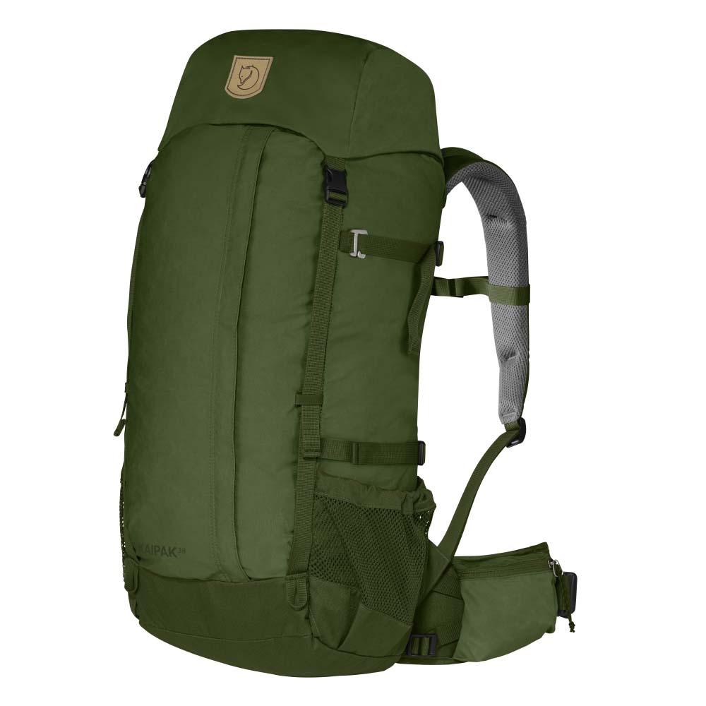 Fjallraven Kaipak 38 pine green backpack <br/></noscript><img class=