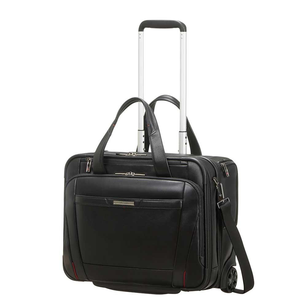 Samsonite Pro-DLX 5 LTH Rolling Tote 15.6&apos;&apos; black Zakelijke koffer <br/></noscript><img class=