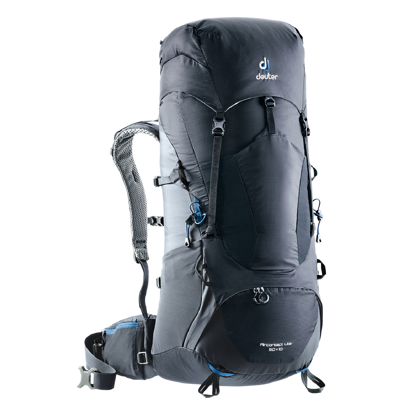 Deuter Aircontact Lite 50+10 Backpack black / graphite backpack <br/></noscript><img class=