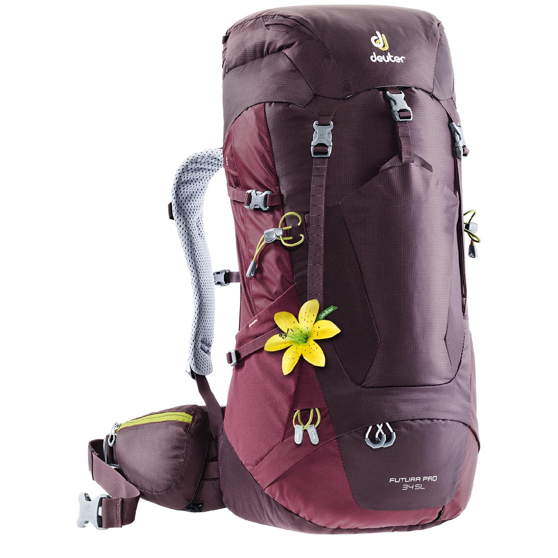Deuter Futura Pro 34 SL Backpack aubergine / maron backpack <br/></noscript><img class=