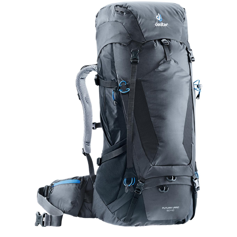 Deuter Futura Vario 50+10 Backpack graphite / black backpack <br/></noscript><img class=