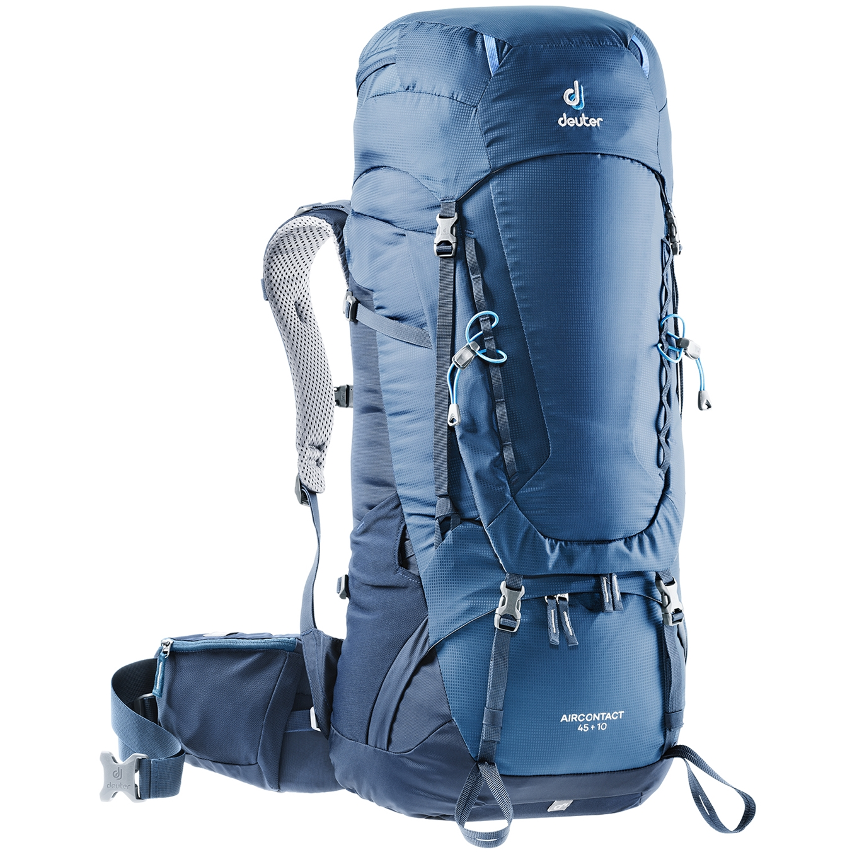 Deuter Aircontact 45 + 10 Backpack midnight/navy backpack <br/></noscript><img class=