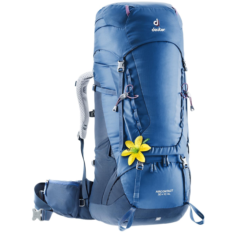 Deuter Aircontact 50 + 10 SL Backpack steel/midnight backpack <br/></noscript><img class=
