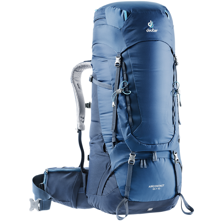 Deuter Aircontact 65 + 10 Backpack midnight/navy backpack <br/></noscript><img class=