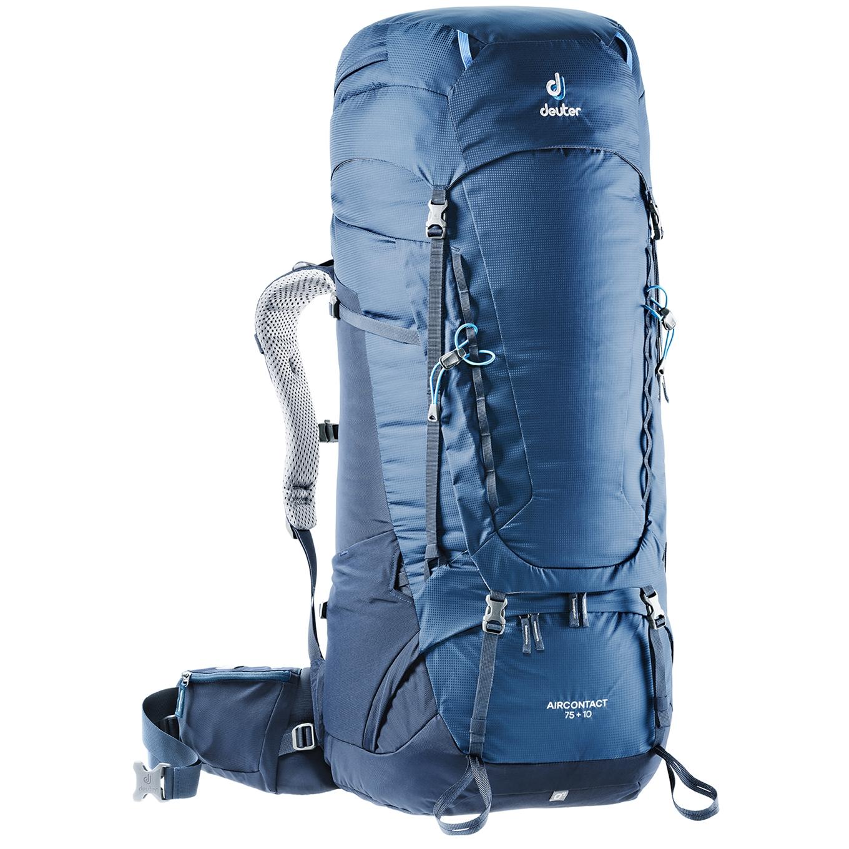 Deuter Aircontact 75 + 10 Backpack midnight/navy backpack <br/></noscript><img class=