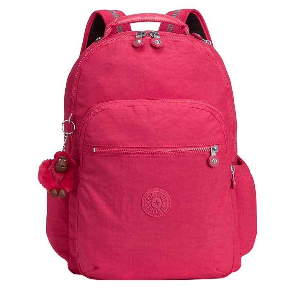 Kipling Seoul Go Rugzak true pink