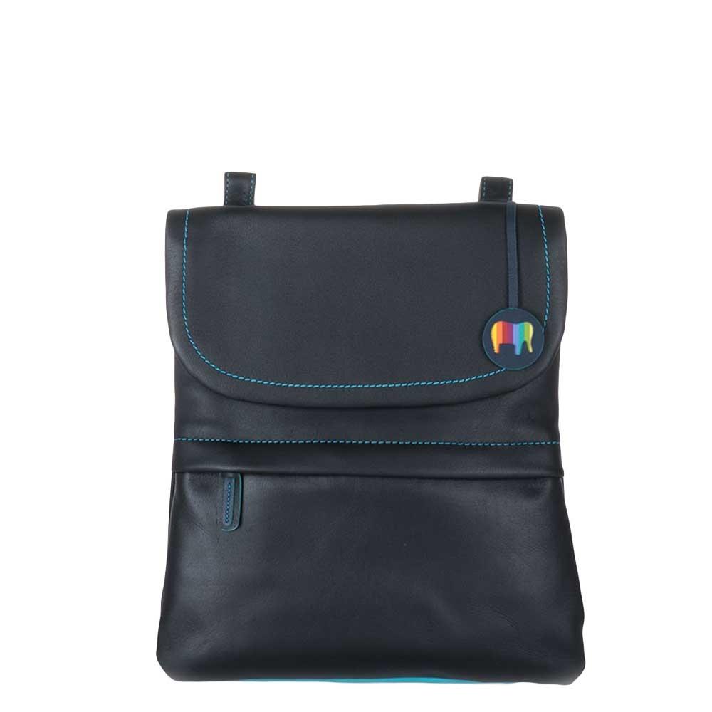 Mywalit Kyoto Medium Backpack/Messenger bag black/pace Leren tas