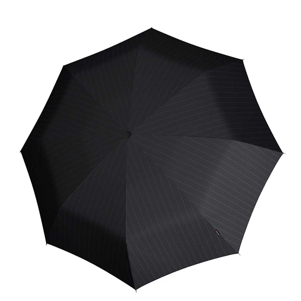 Knirps T-200 Medium Duomatic Paraplu gents print stripes (Storm) Paraplu