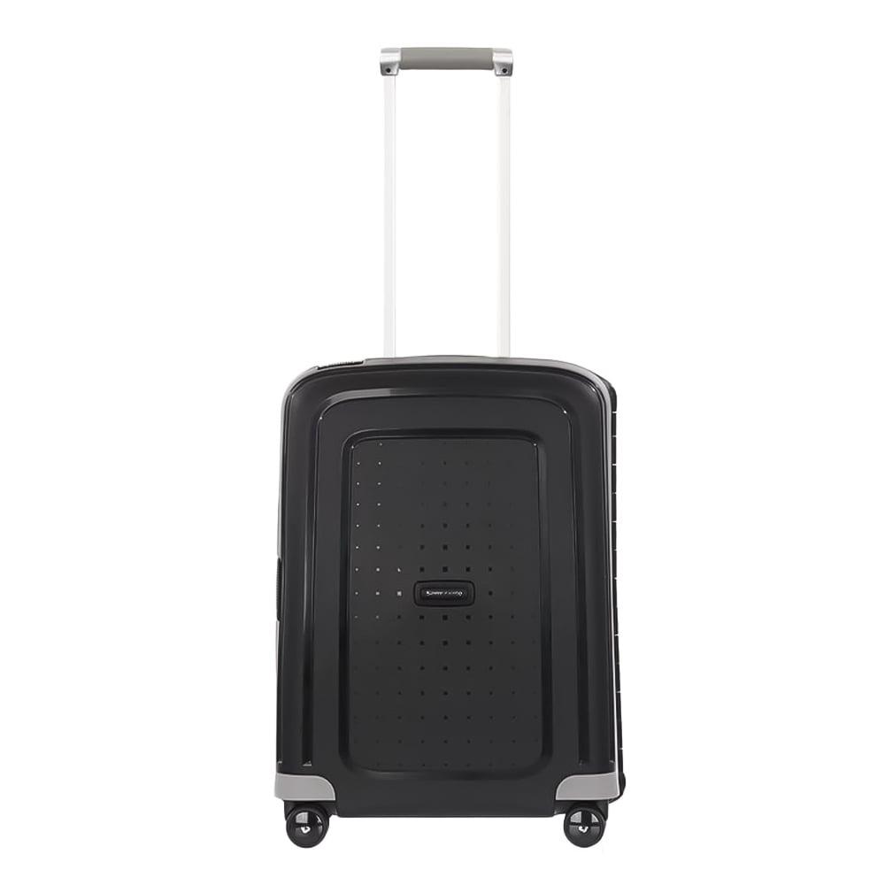 Samsonite S'Cure handbagage trolley spinner zwart