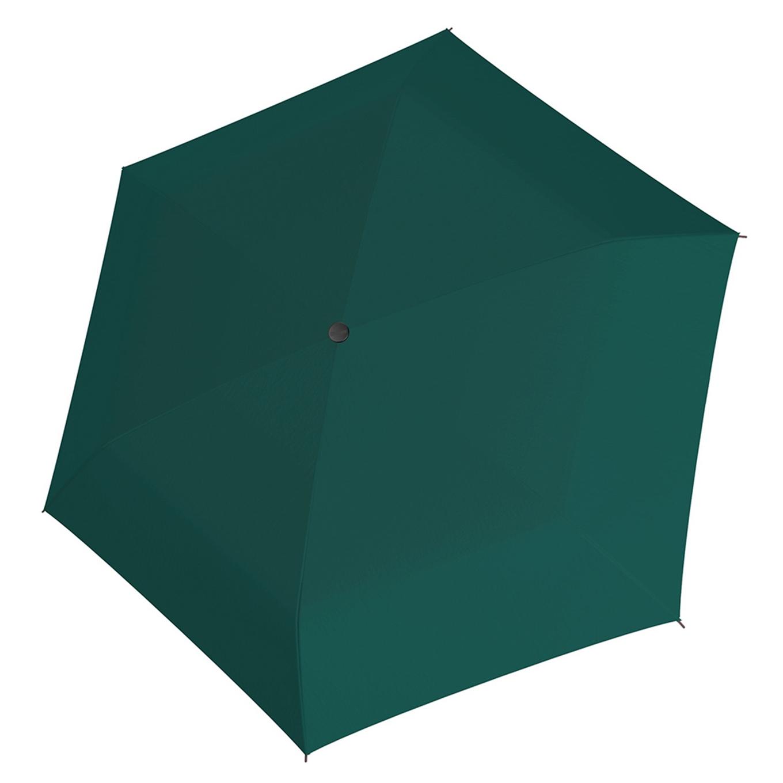 Doppler Carbonsteel mini slim uni Paraplu evergreen (Storm) Paraplu